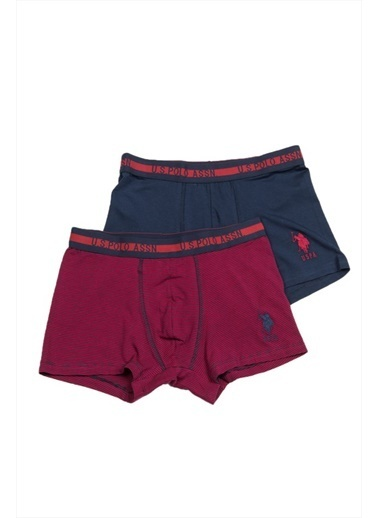 U.S. Polo Assn. 2'li Boxer Bordo
